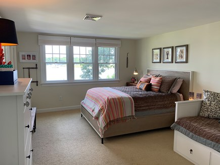 Mashpee Cape Cod vacation rental - Guest bedroom- queen bed & king pull out w/ocean views