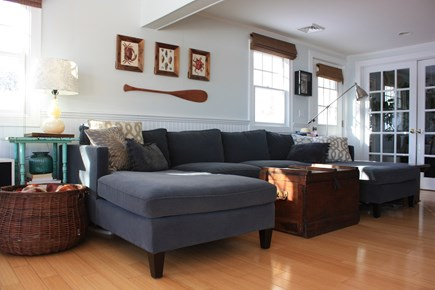 Mashpee Cape Cod vacation rental - Living room