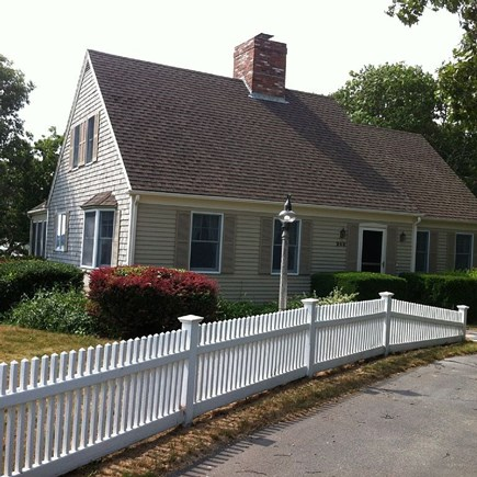 Falmouth Cape Cod vacation rental - Front of the house 248 Menauhant Rd.