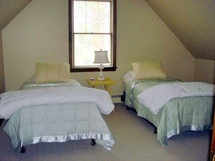 Falmouth Cape Cod vacation rental - 2nd Floor Bedroom two twin bed.