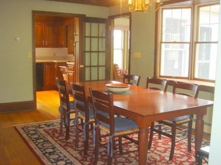 Falmouth Cape Cod vacation rental - Dining room.