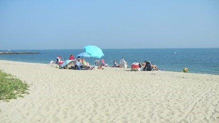Falmouth Cape Cod vacation rental - 4 houses away from this private sandy association beach.