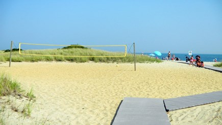 Falmouth Cape Cod vacation rental - Boardwalk to beach