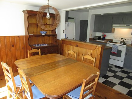 West Harwich Cape Cod vacation rental - Sunny dining room