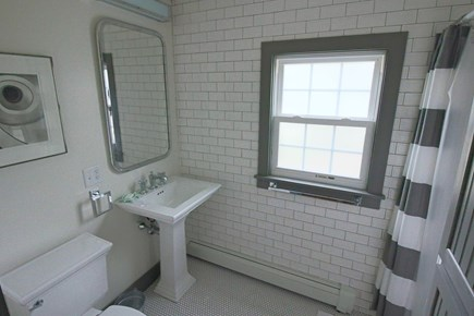 West Harwich Cape Cod vacation rental - Glorious new custom tile bathroom