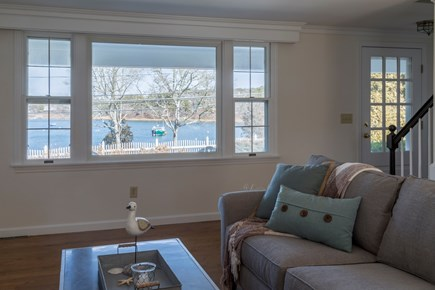 Chatham Cape Cod vacation rental - Living room with water views