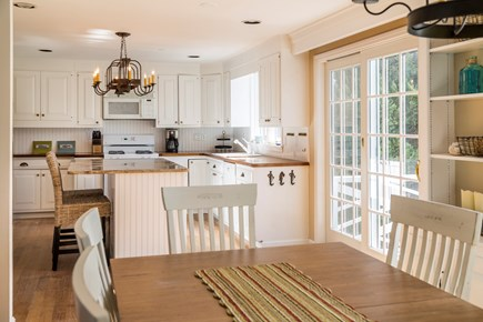 Chatham Cape Cod vacation rental - Dining area and kitchen