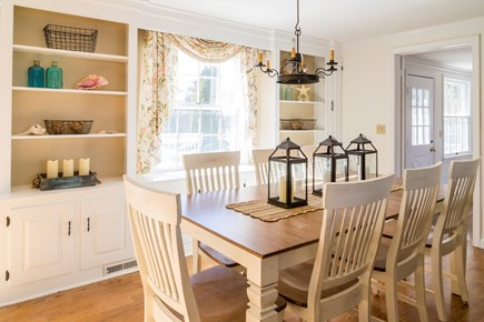 Chatham Cape Cod vacation rental - Dining area with comfortable seating for 8 people