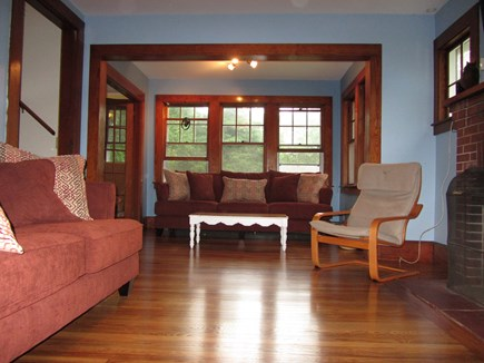 Woods Hole Woods Hole vacation rental - Living room with TV, VCR