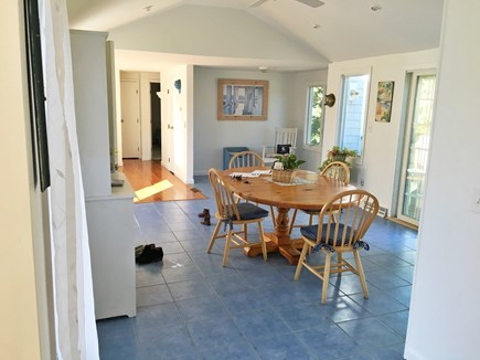Harwich Port Cape Cod vacation rental - The sunny kitchen