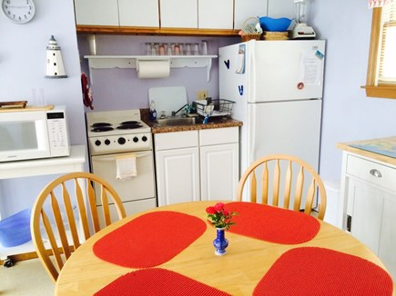 West Dennis Cape Cod vacation rental - Full Kitchen and Dining Area