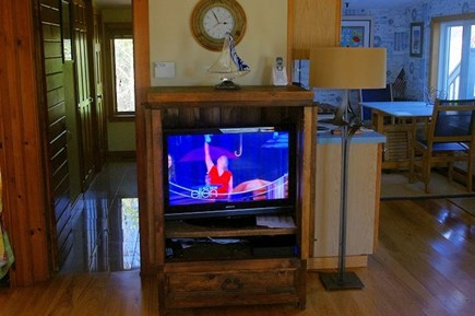 Wellfleet Cape Cod vacation rental - Cable TV in cabinet