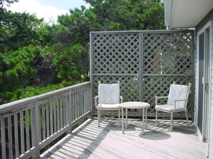 Wellfleet Cape Cod vacation rental - Front Deck off third bedroom