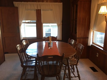 North Falmouth Cape Cod vacation rental - Dining room for 6