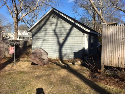 North Falmouth Cape Cod vacation rental - Outdoor shower, garage, grill, and extra yard space