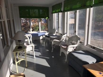 North Falmouth Cape Cod vacation rental - Sun room