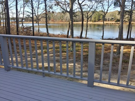 Falmouth, Waquoit Bay Cape Cod vacation rental - Water view off of the expansive deck