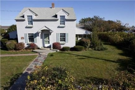 Dennisport Cape Cod vacation rental - View of front of the house from Raycroft Parkway.
