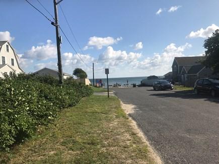 Dennisport Cape Cod vacation rental - Road to beach