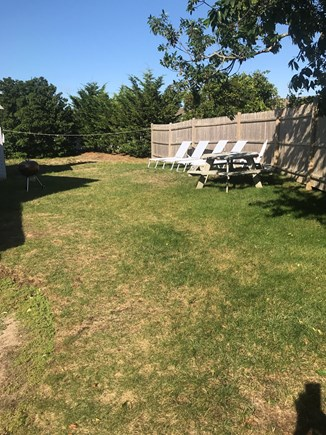 Dennisport Cape Cod vacation rental - Back yard