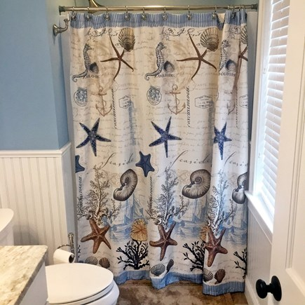 Dennis Port Cape Cod vacation rental - First floor shower