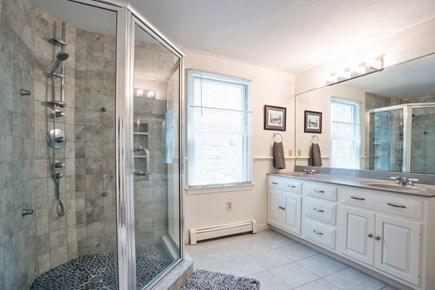 East Dennis/Brewster line Cape Cod vacation rental - First floor master bath