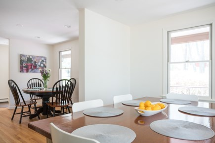 East Dennis/Brewster line Cape Cod vacation rental - Kitchen breakfast nook and dining area