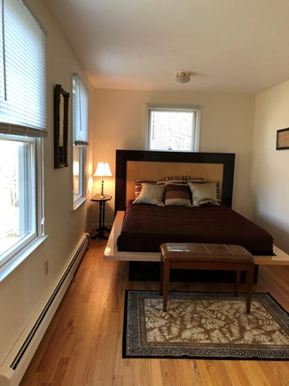 East Dennis/Brewster line Cape Cod vacation rental - First floor queen bedroom.