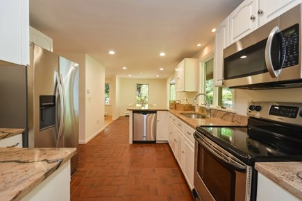 East Dennis/Brewster line Cape Cod vacation rental - Spacious, beautifully applianced kitchen