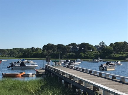Chatham Cape Cod vacation rental - Mill Pond dock from where one can launch kayaks & paddle boards