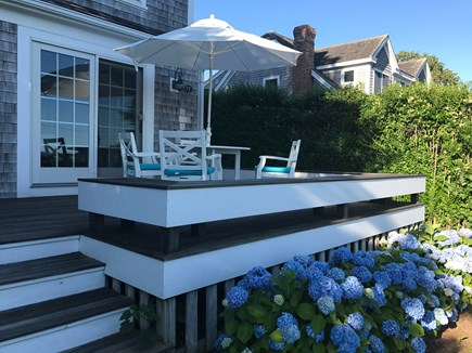Chatham Cape Cod vacation rental - Front deck overlooking Mill Pond