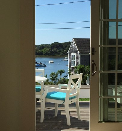 Chatham Cape Cod vacation rental - View of Mill Pond from dining room