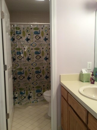 Brewster Cape Cod vacation rental - 2nd Floor Full Bath with a Tub