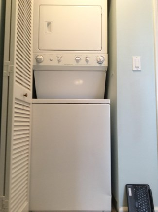 Brewster Cape Cod vacation rental - Stack washer and dryer on 2nd floor