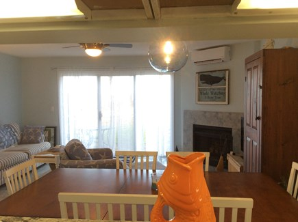 Brewster Cape Cod vacation rental - Living/dining area