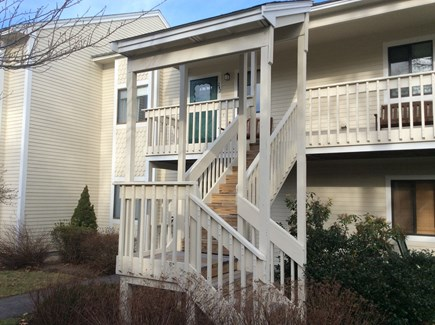 Brewster Cape Cod vacation rental - Front of condo