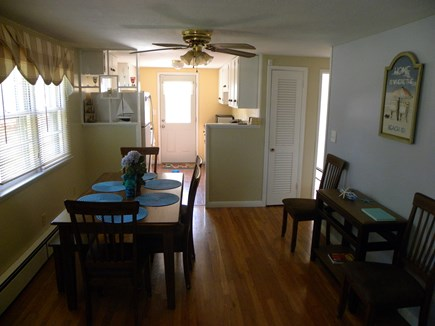 Hyannis Cape Cod vacation rental - Dining room with seating for 8