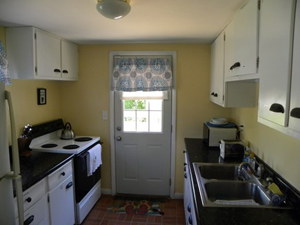 Hyannis Cape Cod vacation rental - Fully stocked kitchen with cabinets labeled for your convenience