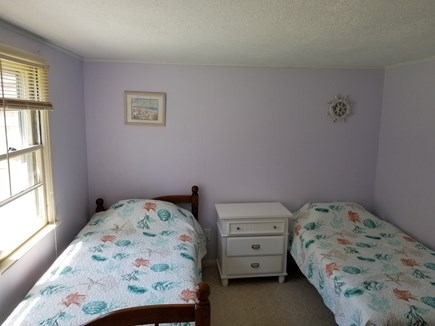 Hyannis Cape Cod vacation rental - Third bedroom, two twins, one with trundle