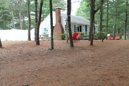 South Chatham Cape Cod vacation rental - House and yard