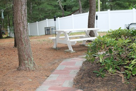 South Chatham Cape Cod vacation rental - Picnic area