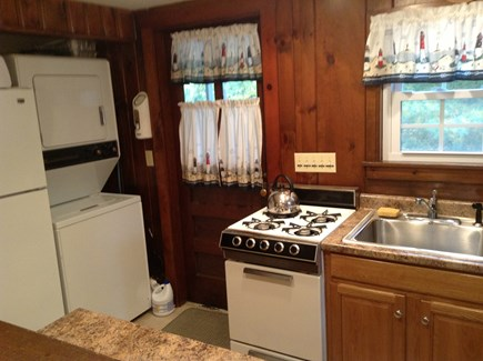 South Chatham Cape Cod vacation rental - Kitchen, Laundry