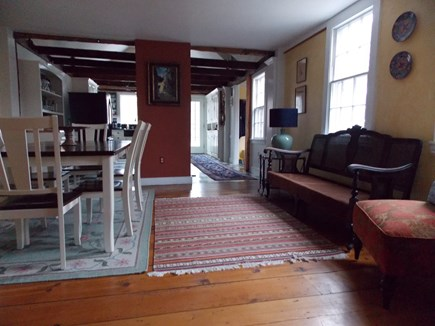 Brewster Cape Cod vacation rental - Dining Room with sitting area next to Kitchen
