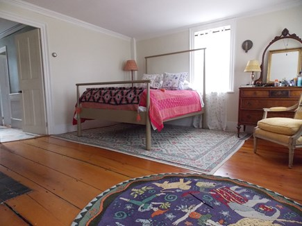 Brewster Cape Cod vacation rental - Master Bedroom downstairs with Queen four poster bed