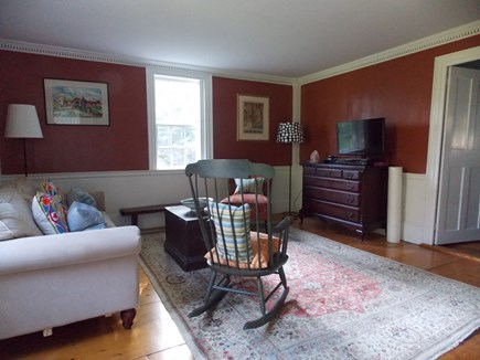 Brewster, Lower Cape, Located  Cape Cod vacation rental - Television/Study with TV cable and dvd