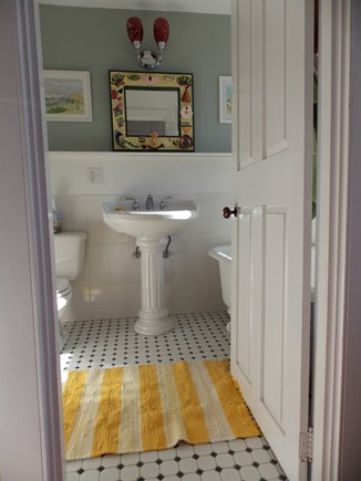 Brewster, Lower Cape, Located  Cape Cod vacation rental - Bathroom near master bedroom and dressing room