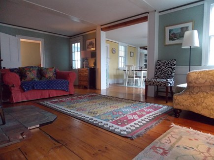 Brewster Cape Cod vacation rental - Living Room going into dining/sitting area