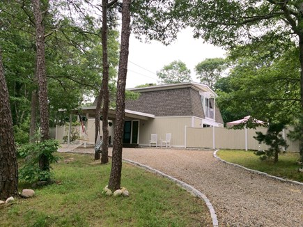 New Seabury New Seabury vacation rental - Spacious lot with horseshoe driveway.