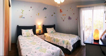 New Seabury New Seabury vacation rental - Ocean Breeze guest bedroom, 2-twins, skylight, balcony. 2nd floor