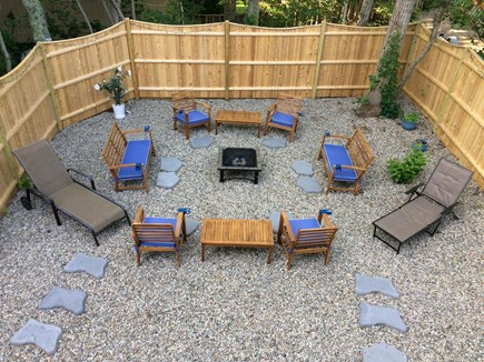 New Seabury New Seabury vacation rental - Backyard seating in the rock garden